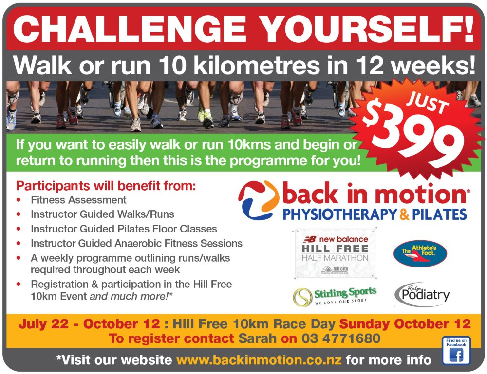 Outram Hillfree 10km Challenge 2014 Back In Motion