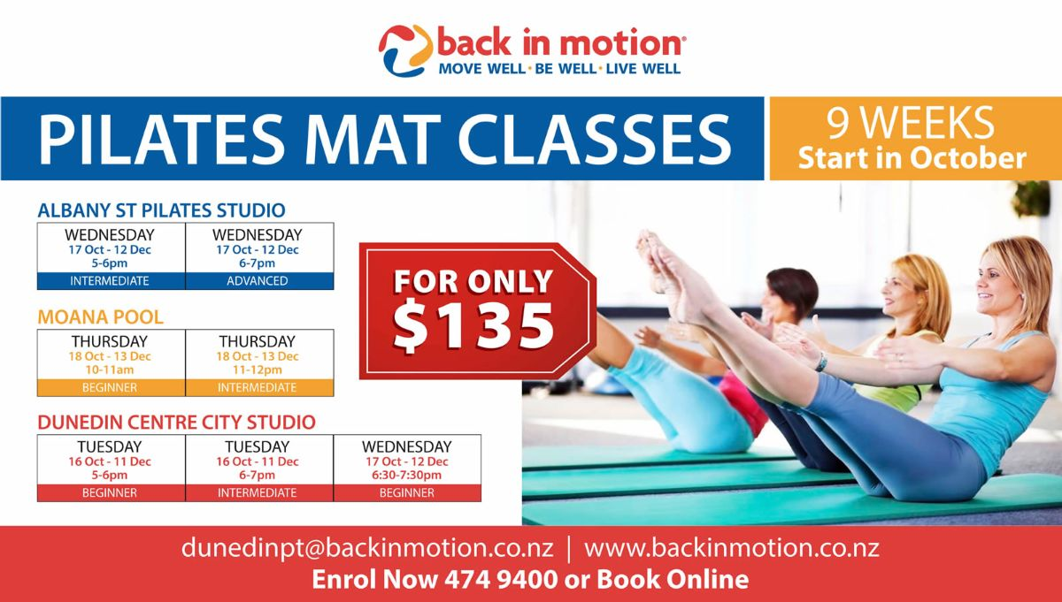 Back in Motion Mat Classes Wide